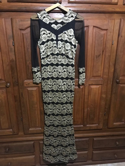 Espectacular Vestido Fino Para Fiestas!!! Diseño Único!