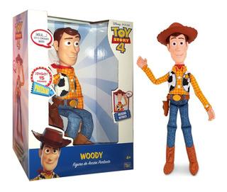 Muñeco Disney Toy Story Sheriff Woody 15 Frases Mundo Manias