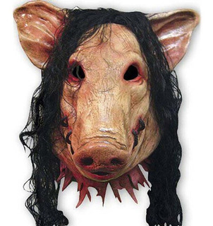 Máscara Látex Porco Pig Realista Fantasia Carnaval Halloween