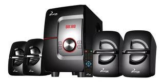 Teatro En Casa Phoenik Em3690ft Bluetooth Usb Fm 40 Watt Rms