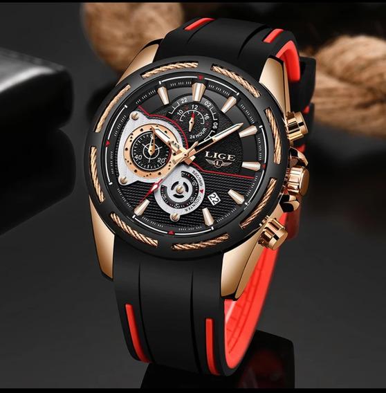 Relógio Masculino Megir Ou Lige Original Frete Grátis