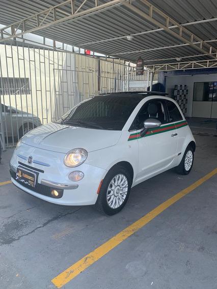 Fiat Gucci 500- Único De Manaus Motor 1.4 Branco 2 Portas