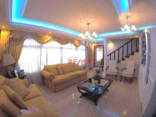 Imagem 1 de 30 de Sobrado Com 3 Dormitórios À Venda, 447 M² Por R$ 790.000,00 - Vila Barros - Guarulhos/sp - So0115