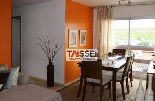 Apartamento Com 2 Dormitórios À Venda, 55 M² Por R$ 320.000,00 - Jabaquara - São Paulo/sp - Ap7453