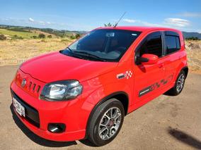 Fiat Uno 1.4 Sporting Flex 5p 2012 Vermelho Novíssimo!!!