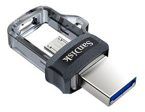 Pen Drive 64gb Dual Drive Usb 3.0 Celular E Pc Sandisk Nfe