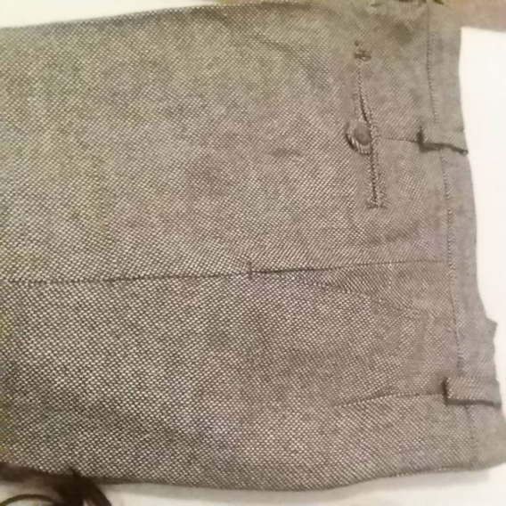 Pantalon Pura Lana T 48 Nuevo