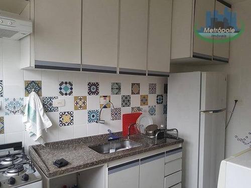 Apartamento Residencial À Venda, Vila Antonieta, Guarulhos - Ap0719. - Ap0719