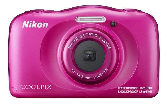 Câmera Nikon Coolpix W100 Wifi À Prova D