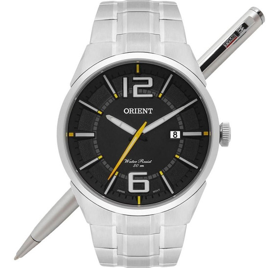 Relógio Orient Masculino Mbss1327 P2sx Analógico - C/ Nfe