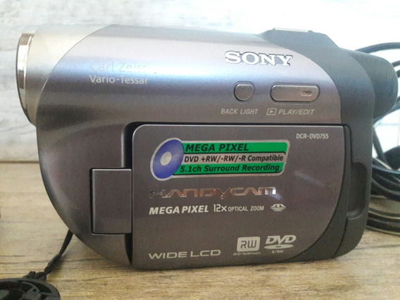 Câmera Sony Filmadora E Fotográfica Digital