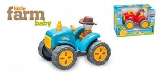Trator Little Farm Baby Uusual Plastic