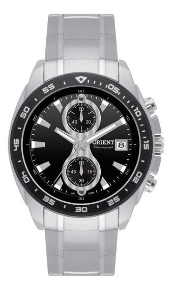 Relógio Orient Masculino Cronógrafo Mbssc029 P1sx Aço Oferta
