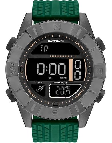Relógio Mormaii Acquaforce Coyote Verde  Technos Mo5334ae8c