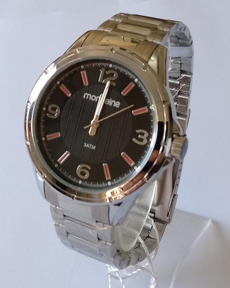 Relógio Masculino Mondaine Prateado Original 83420gomvne1.