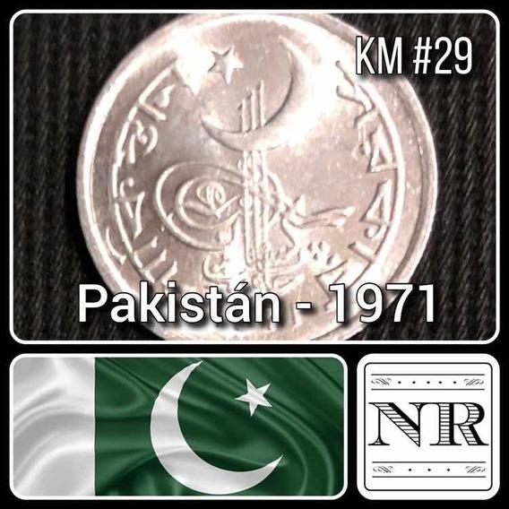 Pakistan - 1 Paisa - Año 1971 - Espigas - Km #29