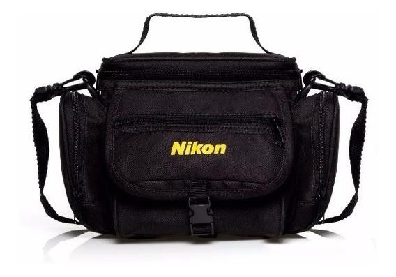 Bolsa Case Nikon Bag C/ Alça D3000 D5300 D5000 D7000 D3300