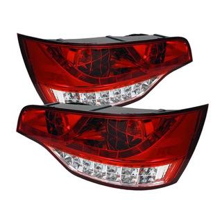 Lanterna Esportiva Led Audi Q7 2007 A 2015 Red