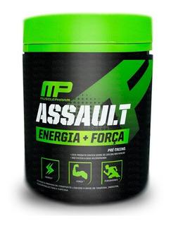 Pré Treino Assault 300g Musclepharm   60 Doses Nova Fórmula