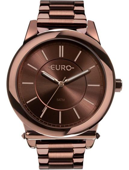 Relógio Feminino Euro Eu2036ymr/4m Analógico Promoção