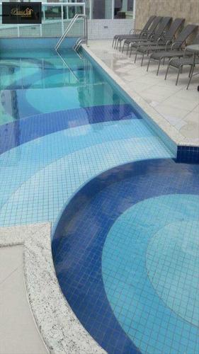 Imagem 1 de 13 de Apartamento Com 2 Dorms, Guilhermina, Praia Grande - R$ 340.000,00, 78m² - Codigo: 175 - V175