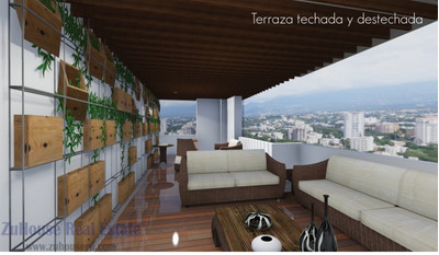 Penthouse Con Estupenda Vista En Lujosa Torre Wpa111 F