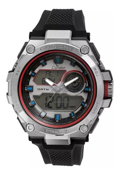 Relógio Masculino Condor Neon Co1161b/8k - Preto