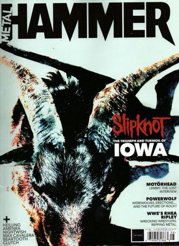 Imagem 1 de 1 de Revista Metal Hammer Editorial Exclusivo Do Rock Pauleira