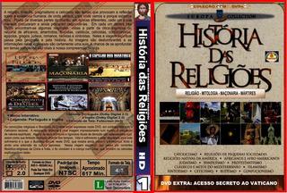 Dvd Box So Documentario - Historia Das Religioes - 8 Dvds