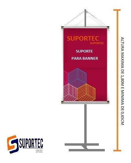 Porta Banner 1,80mt Pedestal Suporte Base Reforçado
