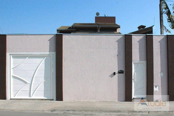 Casa Com 3 Dormitórios À Venda - Residencial Bordon - Sumaré/sp - Ca6282