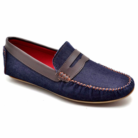 Sapato Mocassim Masculino Casual 100% Couro Social Elegante