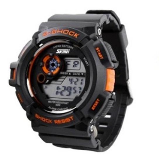 Relógio De Pulso Esportivo Skmei S-shock Digital Militar
