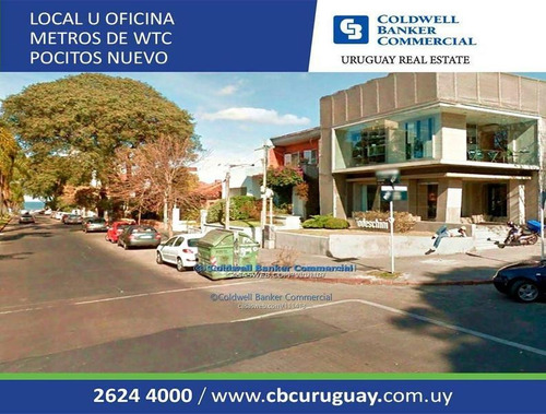 Pocitos Nuevo - Alquiler Local Comercial U Oficina