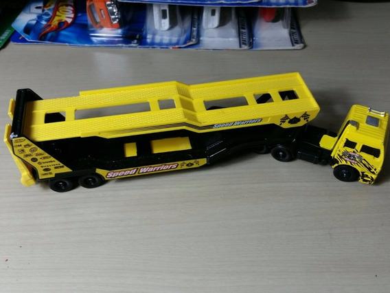 Miniatura Caminhão Jamanta Amarelo Maisto - Novo/lacrado!