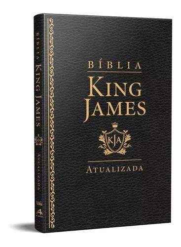 Bíblia King James Atualizada Slim Kja Preta Luxo
