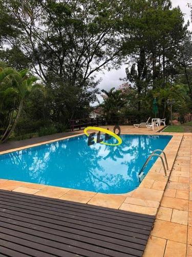 Casa Com 4 Dormitórios, 200 M² - Venda Por R$ 1.350.000,00 Ou Aluguel Por R$ 6.500,00/mês - Granja Viana Ii - Cotia/sp - Ca4603