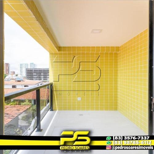 Apartamento Com 1 Dormitório À Venda, 44 M² Por R$ 179.900 - Miramar - João Pessoa/pb - Ap2871