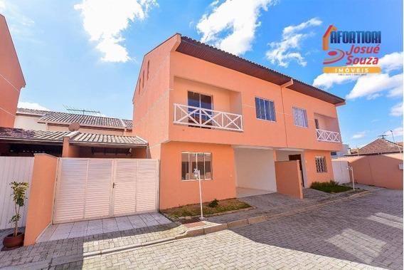 Sobrado Com 3 Dormitórios Para Alugar, 109 M² Por R$ 1.700/mês - Uberaba - Curitiba/pr - So0949