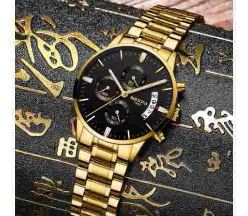 Relógio De Pulso Masculino Barato Nibosi Promoção
