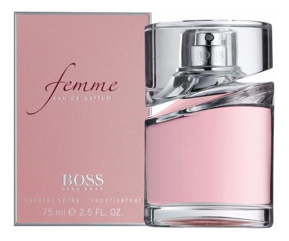 Hugo Boss Femme 75 Ml Eau De Parfum Original Lacrado.