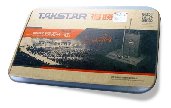 Retorno Sem Fio In Ear Wireless Takstar - Id1983