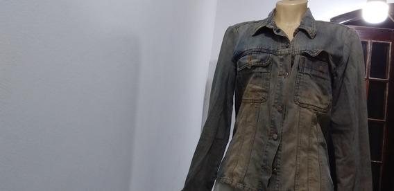 Jaqueta De Jeans Blazer ,casaco Equilibrius
