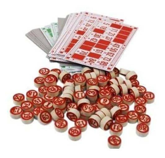 Novo Jogo De Bingo Loto Casa Escritorio Promoção