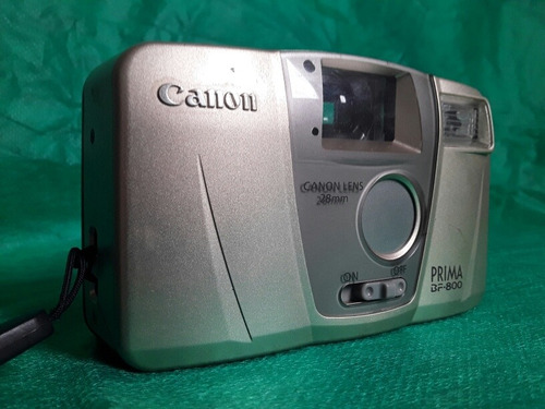 Câmera Fotográfica Analógica Canon Prima Bf-800 Com Defeito