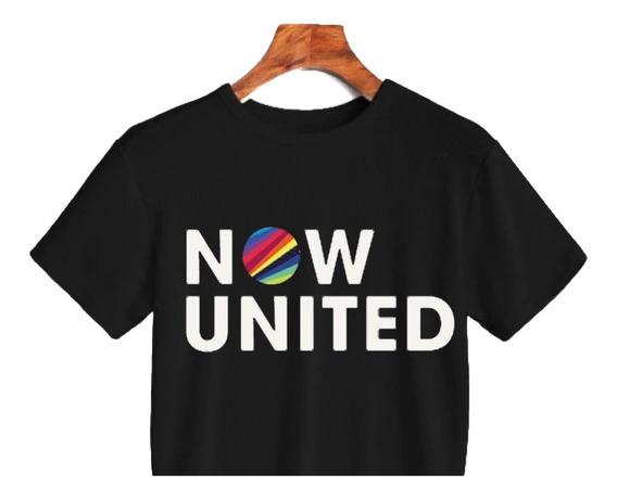 Cropped Camiseta Now United Super Escolha Integrante