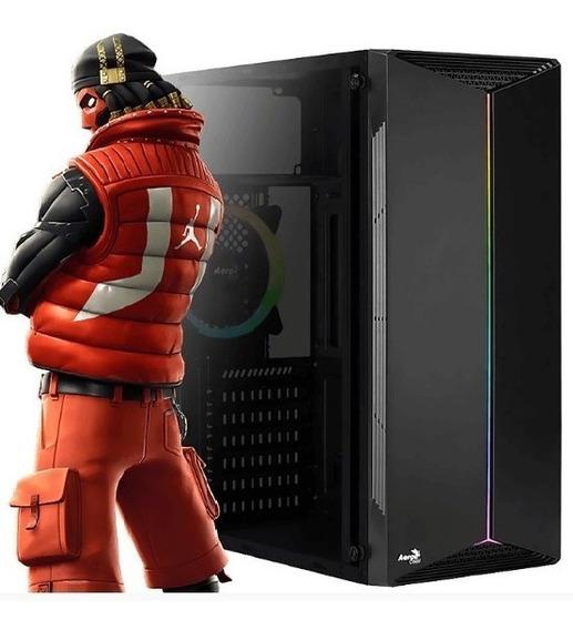 Pc Ryzen R5 2400 Rx 560 8gb Ddr4 Ssd 120gb + Hd 1tb 500w Led