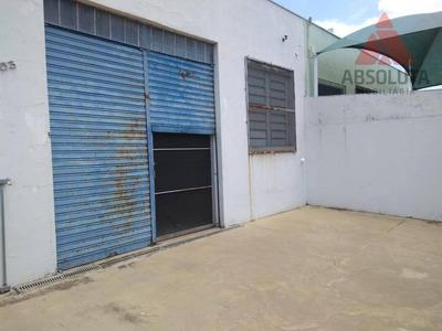 Salão Para Alugar, 270 M² Por R$ 3.300/mês - Jardim Ipiranga - Americana/sp - Sl0237