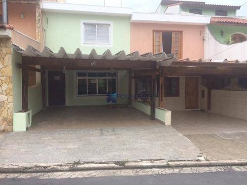 Maravilhoso Sobrado Condomínio Fechado Vila Industrial - So0215