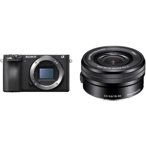 Câmera Sony Mirrorless Alpha A6500 + 16-50mm Garantia Sjuros